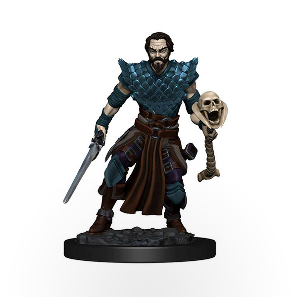 Dungeons & Dragons: Icons of the Realms - Premium Miniatures - Human Male Warlock