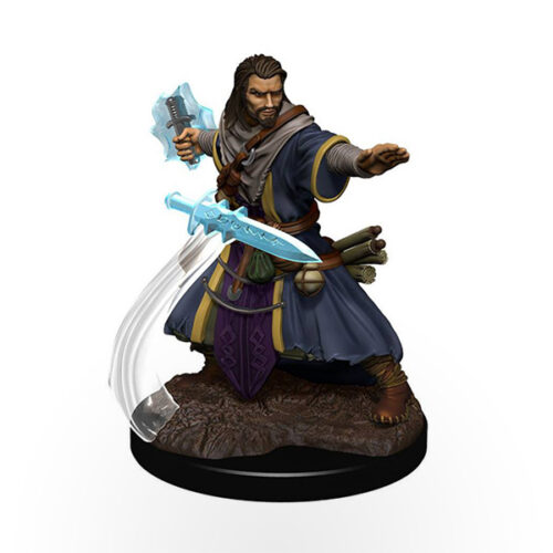 Dungeons & Dragons: Icons of the Realms - Premium Miniatures - Human Male Wizard