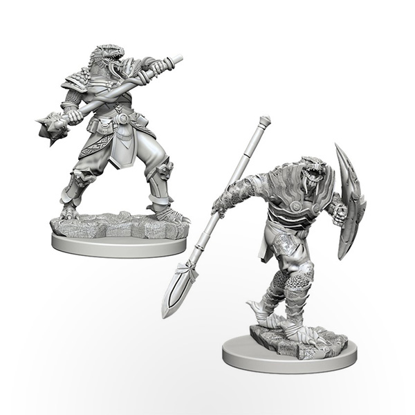 D&D Nolzur's Marvelous Miniatures: Dragonborn Male Fighter with Spear