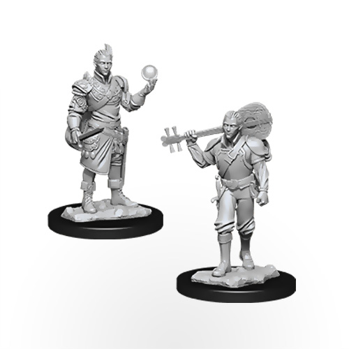 D&D Nolzur's Marvelous Miniatures: Half-Elf Male Bard