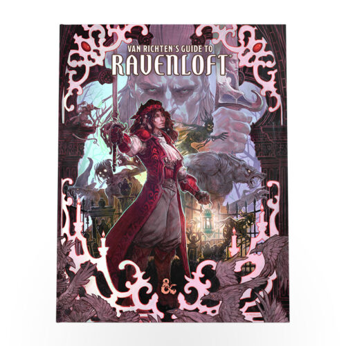 Dungeons & Dragons: Van Richten's Guide to Ravenloft Alternative Cover