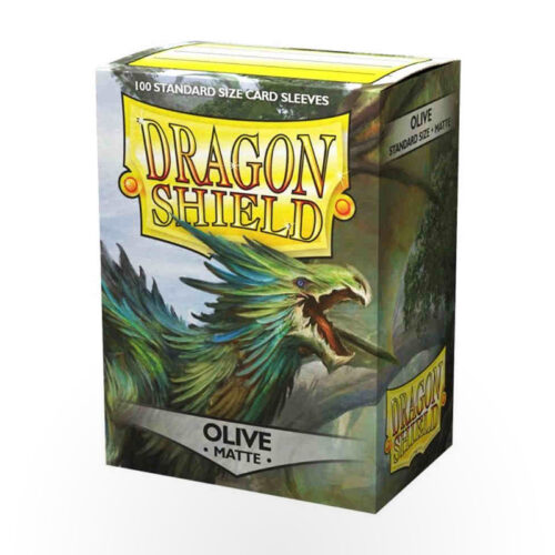 Dragon Shield Matte Sleeves - Olive