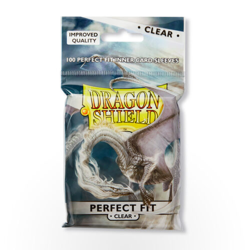 Dragon Shield Perfect Fit Sleeves - Clear