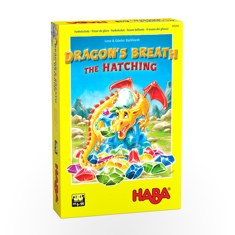 Stalo žaidimas Dragon's Breath: The Hatching