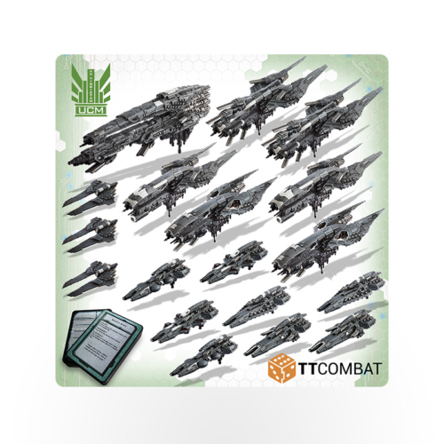Dropfleet Commander UCM Battle Fleet
