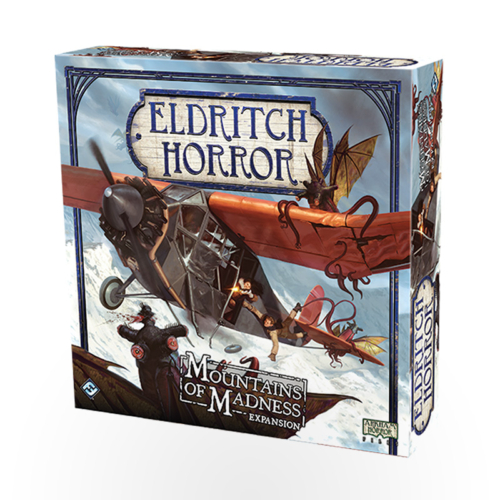 Stalo žaidimas Eldritch Horror: Mountains of Madness