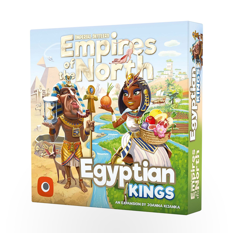 Stalo žaidimas Imperial Settlers: Empires of the North – Egyptian Kings
