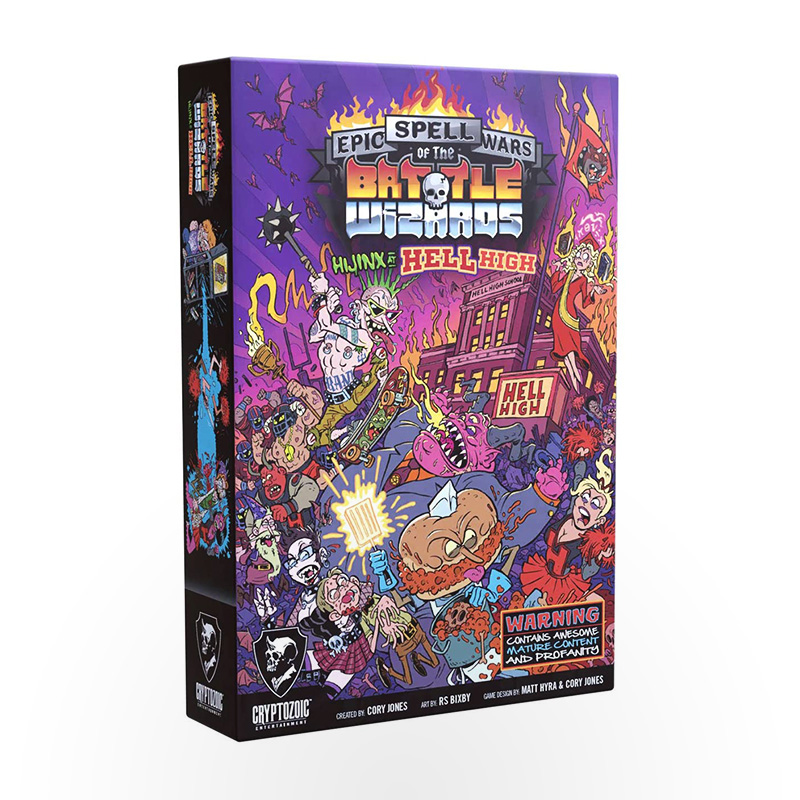 Stalo žaidimas Epic Spell Wars of the Battle Wizards 5: Hijinx at Hell High