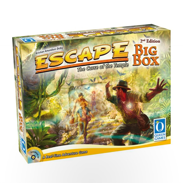 Stalo žaidimas Escape: The Curse of the Temple – Big Box