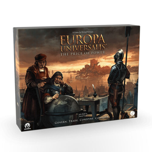 Stalo žaidimas Europa Universalis: The Price of Power