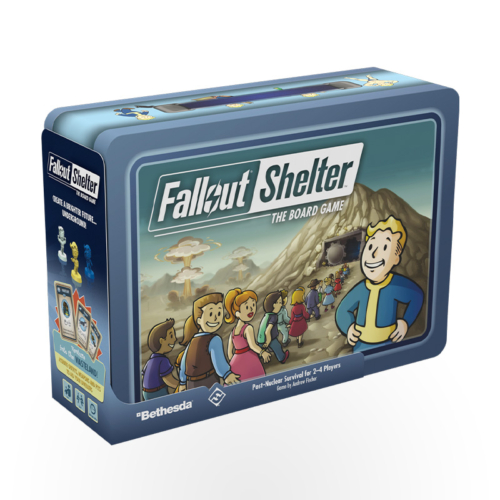 Stalo žaidimas Fallout Shelter: The Board Game