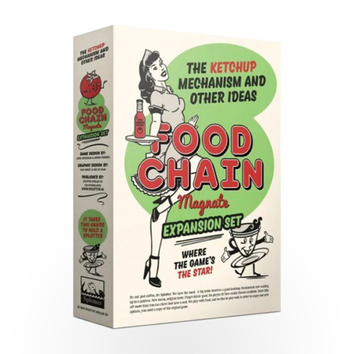 Stalo žaidimas Food Chain Magnate: The Ketchup Mechanism and Other Ideas