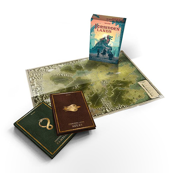 Forbidden Lands: Core Boxed Set (2nd Edition)