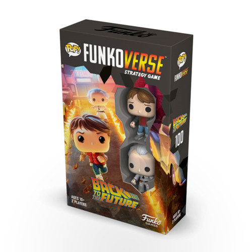 Stalo žaidimas Funko Pop! - Funkoverse Strategy Game: Back to the Future Expandalone