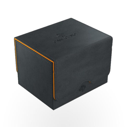 GAMEGENIC Exclusive Edition Deck Boxes - Sidekick 100+ Black/Orange