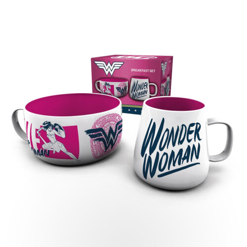 GBeye Breakfast Set - Wonder Woman Brave