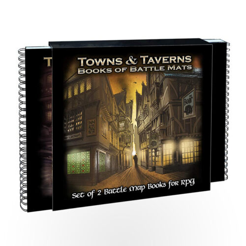 Giant Book of Battle Mats - Towns & Taverns
