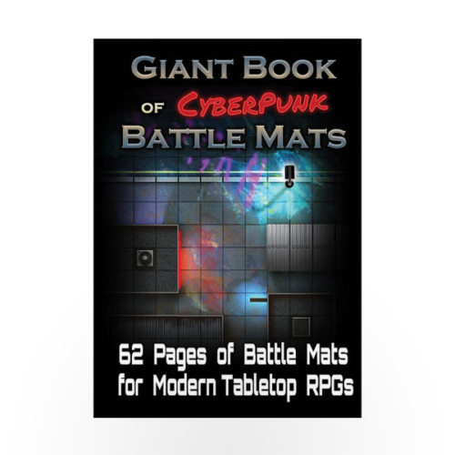 Giant Book of CyberPunk Battle Mats