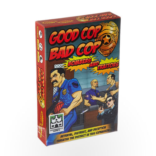 Stalo žaidimas Good Cop Bad Cop: Bombers and Traitors