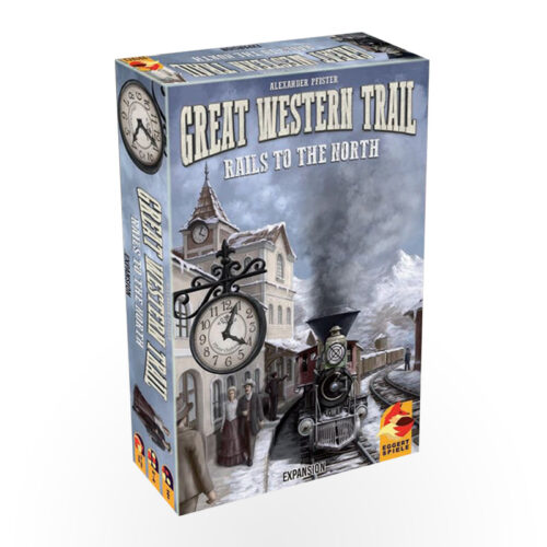 Stalo žaidimas Great Western Trail: Rails to the North