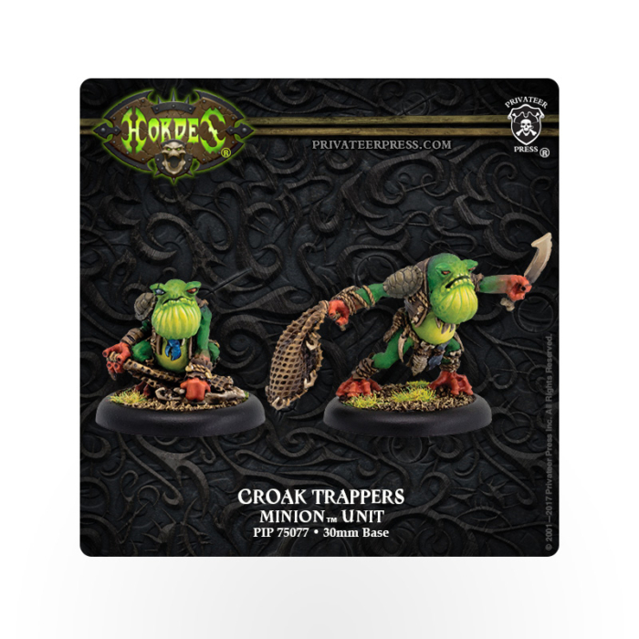 HORDES Minions Croak Trappers