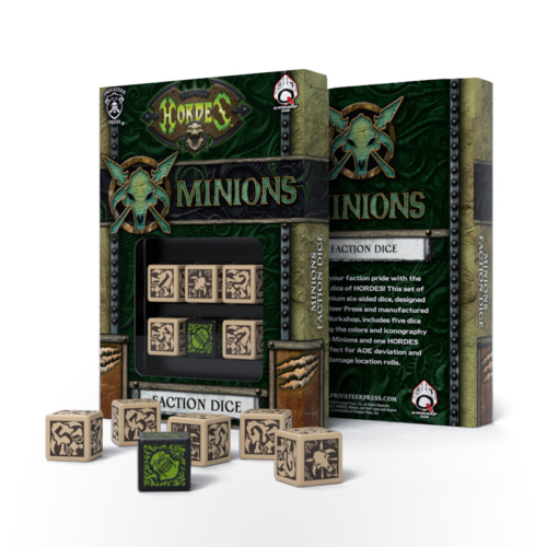 HORDES Minions Faction Dice