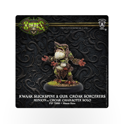 HORDES Minions Slickspine and Gub, Croak Sorcerers