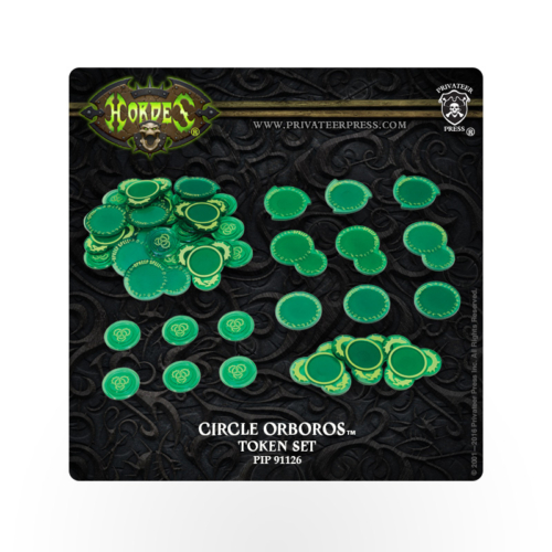 HORDES Circle Orboros Token Set
