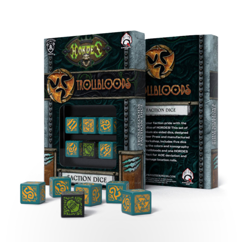 HORDES Trollbloods Faction Dice