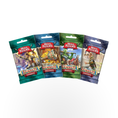 Stalo žaidimas Hero Realms: Journeys Packs