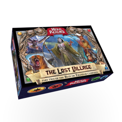 Stalo žaidimas Hero Realms: The Lost Village Campaign Deck
