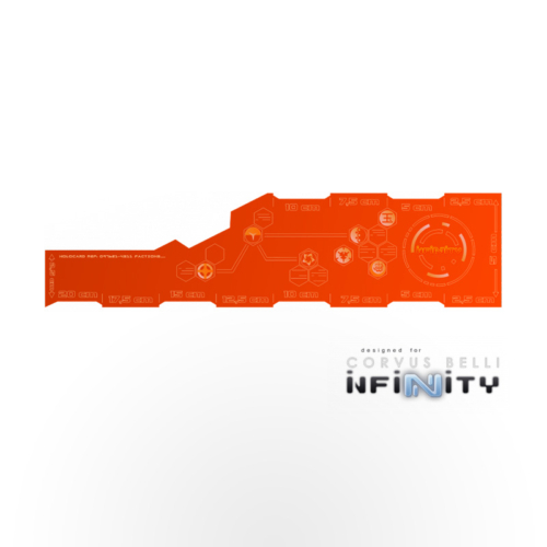INFINITY Range Card CM - Orange
