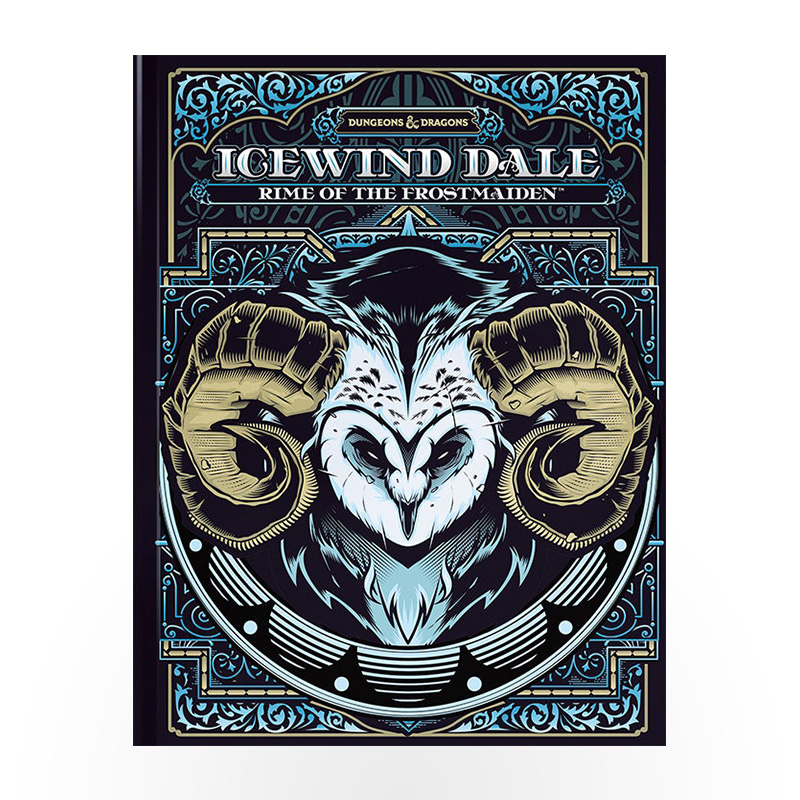 Dungeons & Dragons: Icewind Dale - Rime of the Frostmaiden Alternative Cover