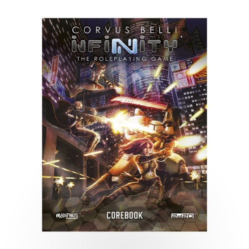 Infinity RPG Core Book