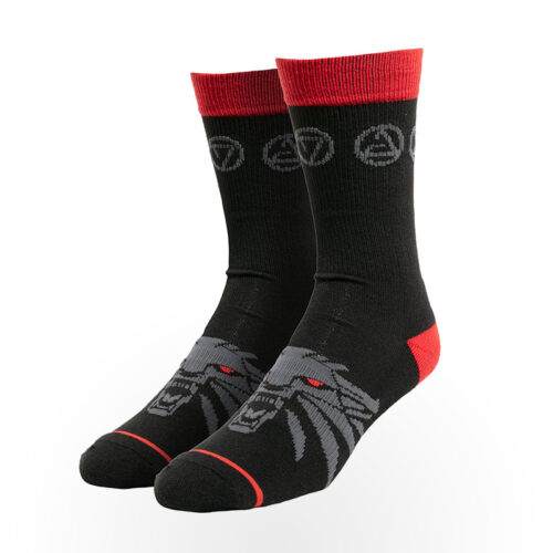 Kojinės JINX Merchandise - The Witcher 3: Monster's Bane Socks