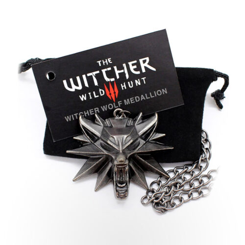 JINX Merchandise - The Witcher 3: Wild Hunt Medallion and Chain