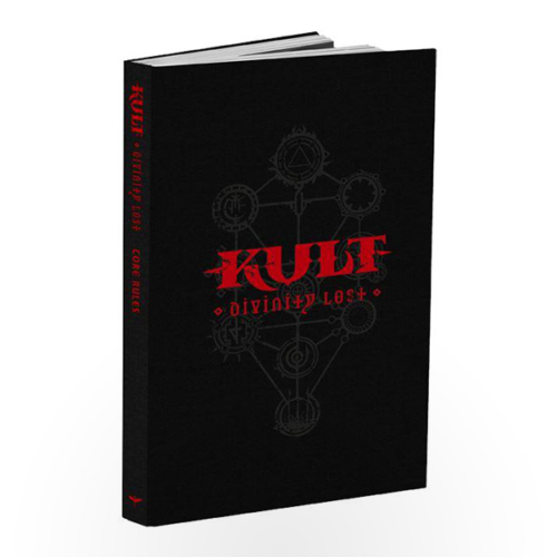 KULT: Divinity Lost - Core Rules (Black Edition)