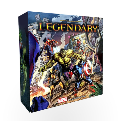 Stalo žaidimas Legendary: A Marvel Deck Building Game