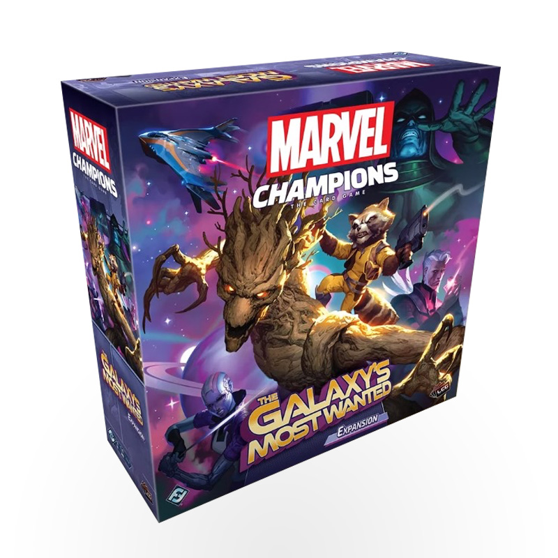 Stalo žaidimas Marvel Champions: The Card Game – The Galaxy's Most Wanted