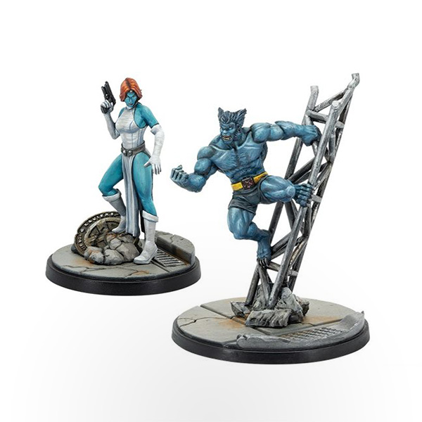 Marvel Crisis Protocol – Mystique and Beast