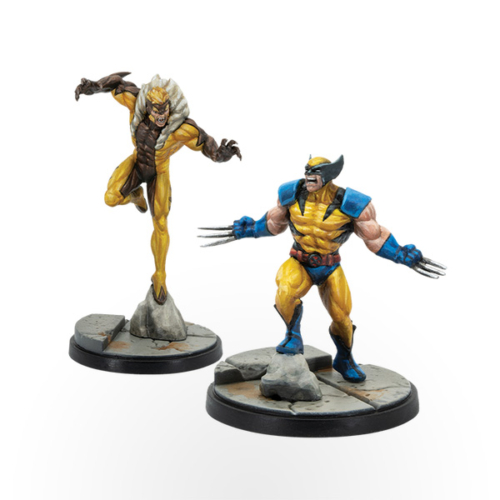 Marvel Crisis Protocol – Wolverine and Sabretooth