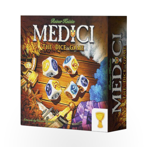 Stalo žaidimas Medici: The Dice Game