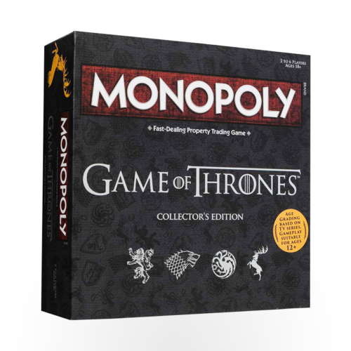 Stalo žaidimas Monopoly: Game of Thrones – Collector's Edition