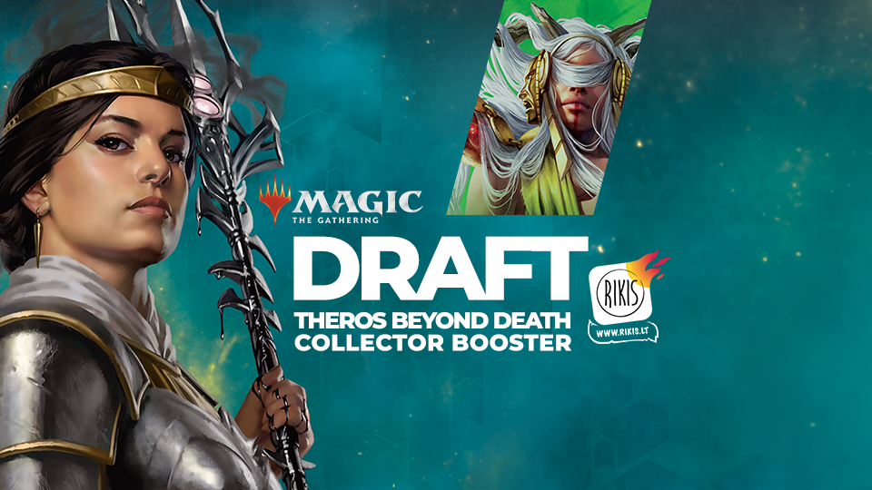 Magic: The Gathering - Theros Beyond Death Collector Booster DraftMagic: The Gathering - Theros Beyond Death Collector Booster Draft