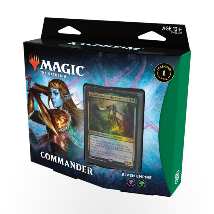 Magic the Gathering: Kaldheim Commander Deck - Elven Empire