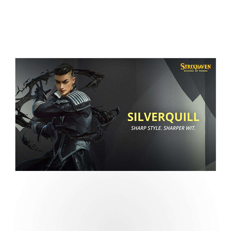 Magic the Gathering: Strixhaven: School of Mages Commander Deck - Silverquill Statement