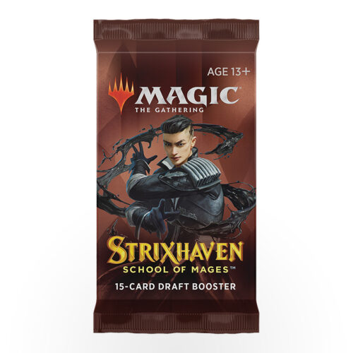 Magic: The Gathering – Strixhaven: School of Mages Draft Booster