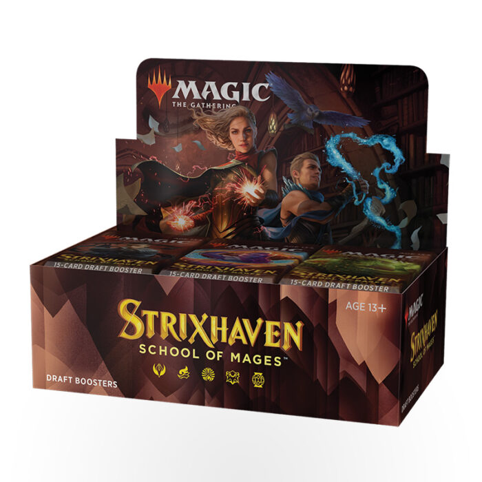 Magic: The Gathering – Strixhaven: School of Mages Draft Booster Box