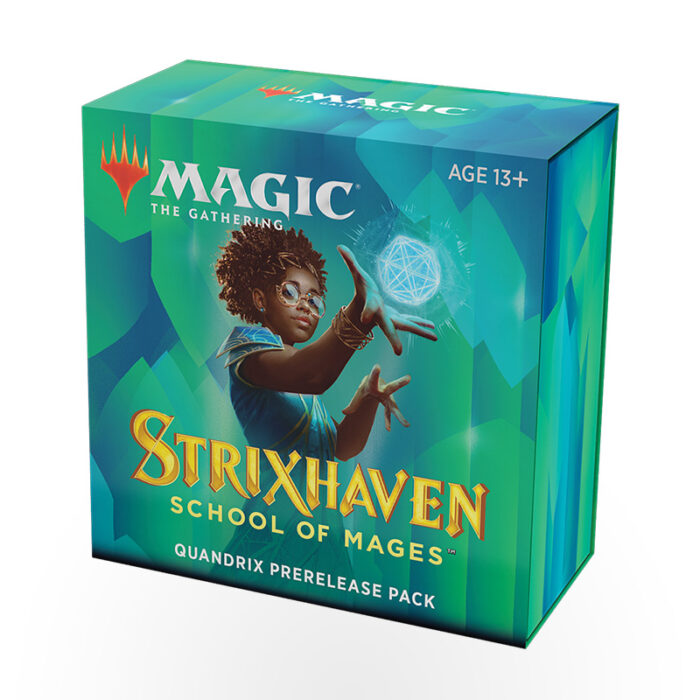 Magic: The Gathering – Strixhaven: School of Mages Prerelease Pack – Quandrix