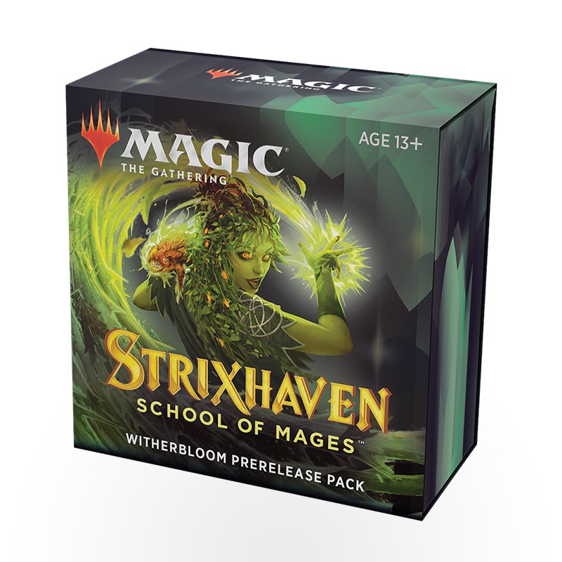 Magic: The Gathering – Strixhaven: School of Mages Prerelease Pack – Witherbloom
